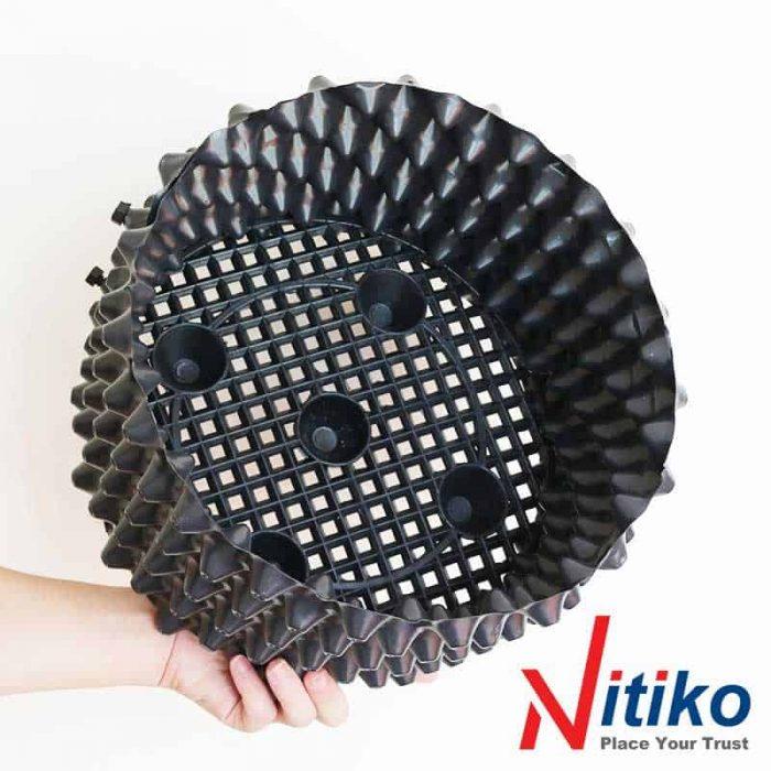 Bầu nhựa ươm cây Ecopot 08 nitiko