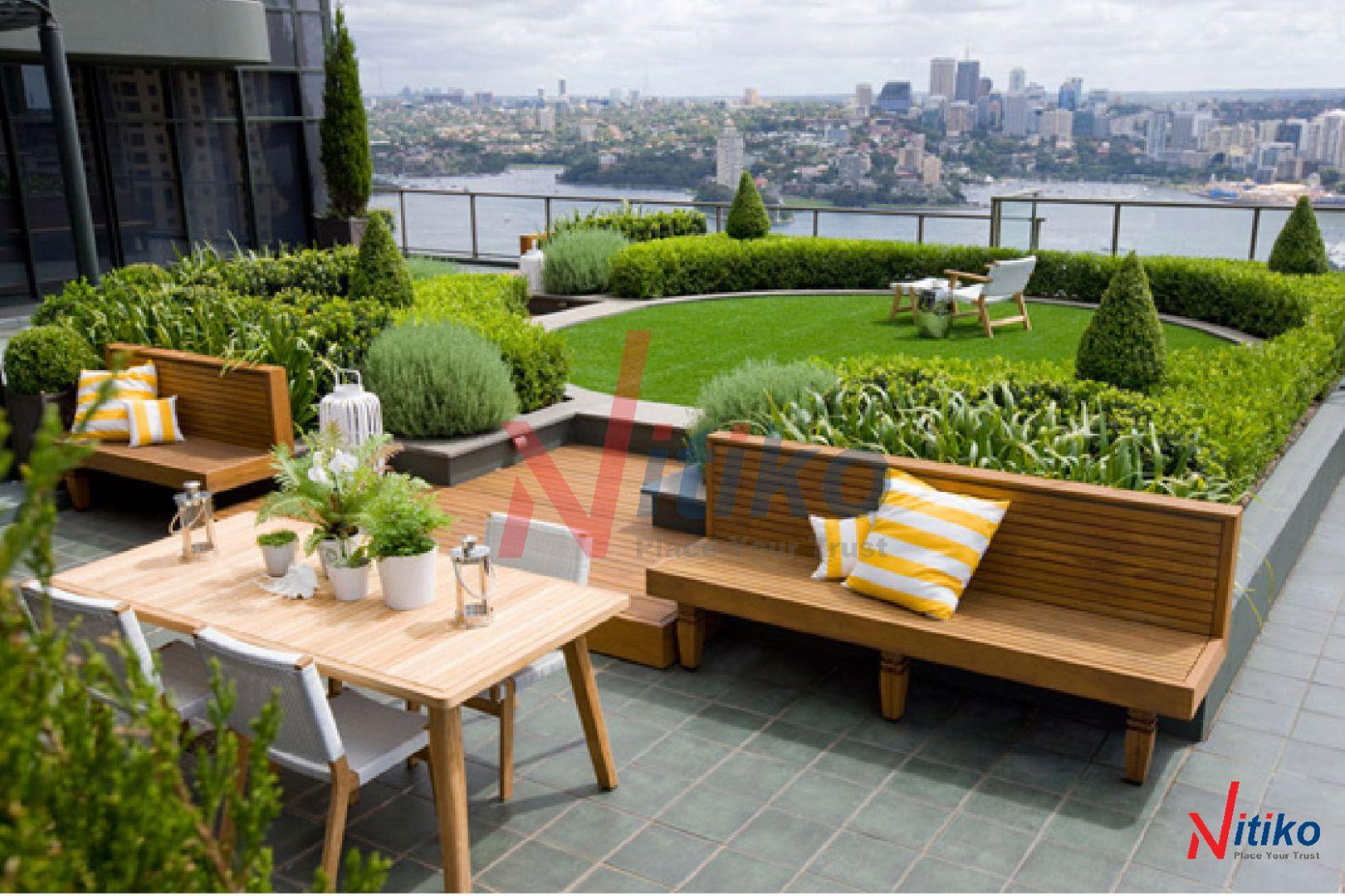 Kiến trúc xanh trong thiết kế cảnh quan