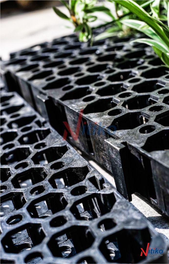 5 lý do nên sử dụng vỉ thoát nước Necty khi trồng rau trên sân thượng