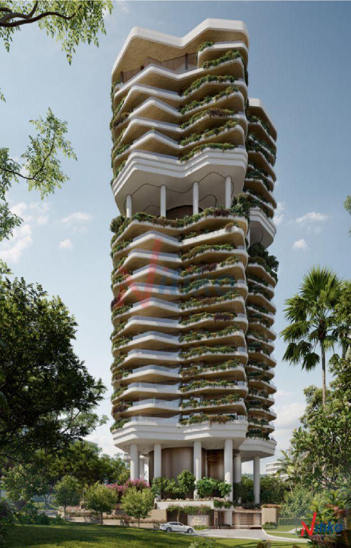 Khu Vườn Thẳng đứng Trong Toà Cao Ốc Singapore
