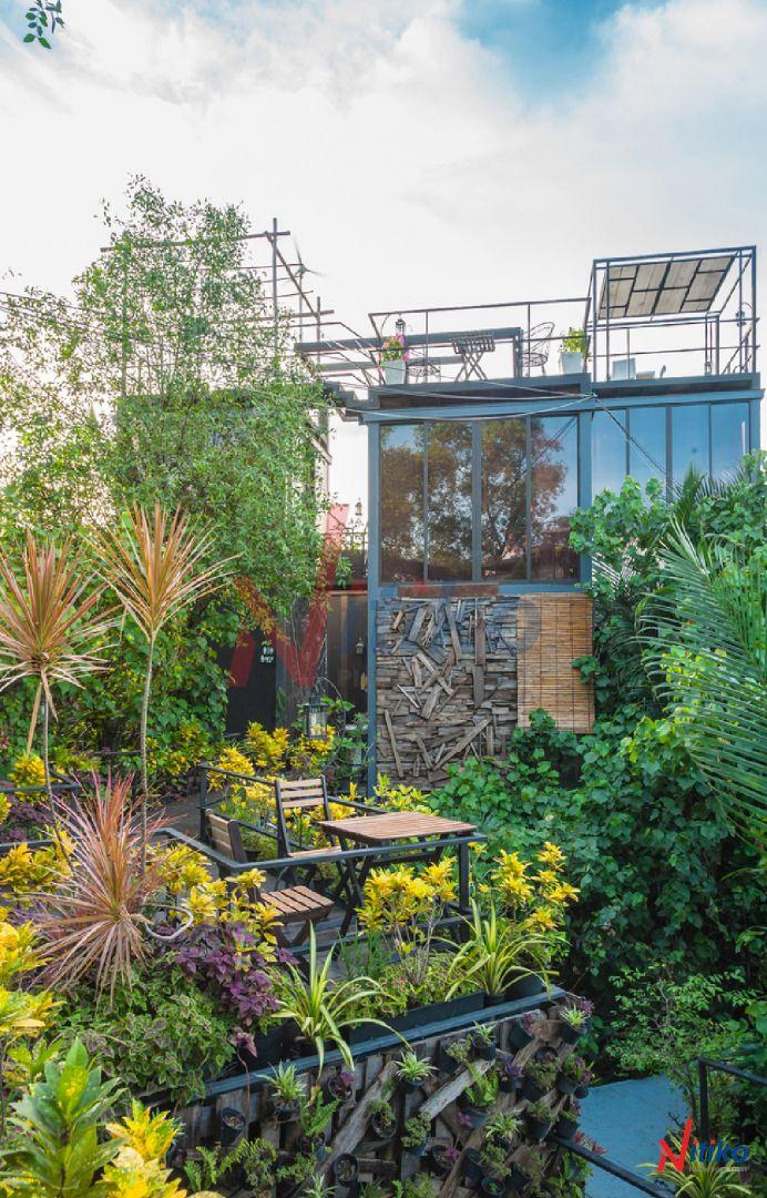 Vỉ Thoát Nước Necty Cho Vườn Ban Sân Thượng